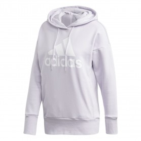 ADIDAS W BADGE OF SPORT LONG OVERHEAD HOODIE