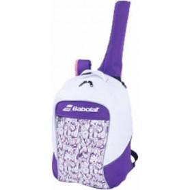 Babolat Backpack Junior Club Blanca Violeta