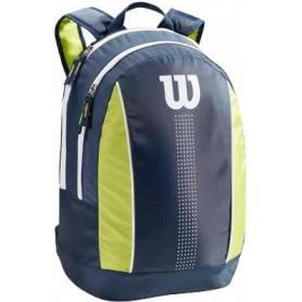 Wilson Juni Orange Backpack Navyy/Lime Green/White