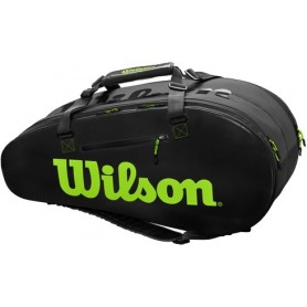 Wilson Super Tour 2 Comp Large Charco/Orange/Green