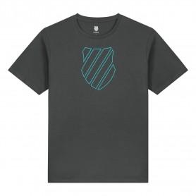 K-Swiss Camiseta Hypercourt Logo Dark Shadow