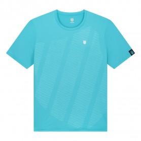 K-Swiss Camiseta Hypercourt Shield Crew Scuba Blue
