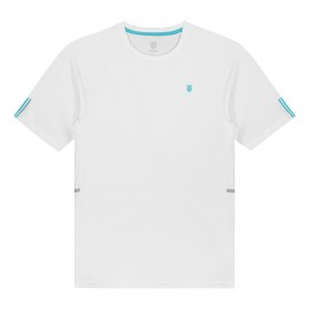 K-Swiss Camiseta Hypercourt Crew 2 White