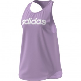 Adidas Camiseta Tirantes W Lin Tk Purple
