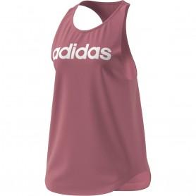 Adidas Camiseta Tirantes W Lin Tk Pink