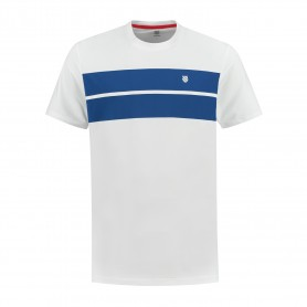 K-Swiss Camiseta Hypercourt Crew 2 White Blue