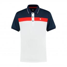 K-Swiss Polo Heritage Sport Stripe