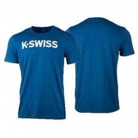 K-Swiss Camiseta Core Logo Blue