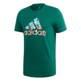 Adidas Camiseta 8-Bit Badge Of Sport