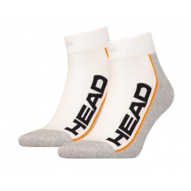 Head Socks Tennis 2P Stripe Quarter