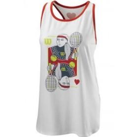 Wilson  Camiseta  Queen Tech Tank Blanco