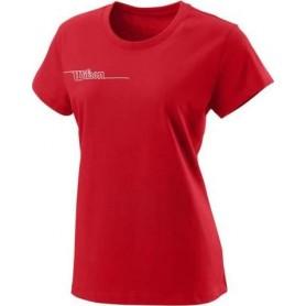 Wilson  Camiseta  Team Ii Tech Tee Team Rojo