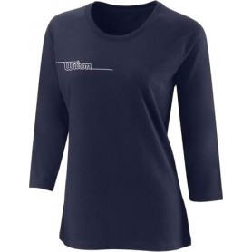 Wilson  Camiseta  Team Ii 3/4 Sleeve Tch Tee Azul Marino