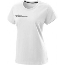 Wilson  Camiseta  Team Ii Tech Tee Blanco