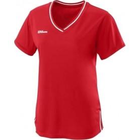 Wilson  Camiseta  Team Ii V-Neck Team Rojo