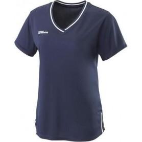Wilson  Camiseta  Team Ii V-Neck Azul Marino