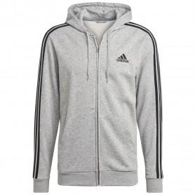 Chaqueta Adidas Con Capucha M 3S Ft Hombre Gris