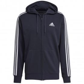 Chaqueta Adidas Con Capucha M 3S Ft Hombre Azul