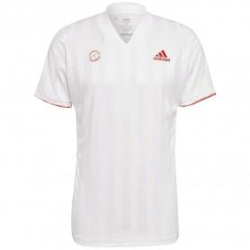 Adidas Camiseta Freelift T Eng Blanco