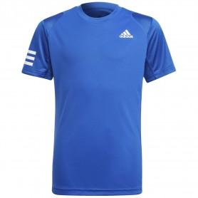 Adidas Camiseta Niño Club 3-Stripe Azul