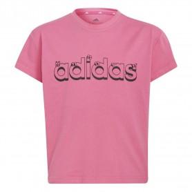 Adidas Camiseta Adidas Graphic Rosa