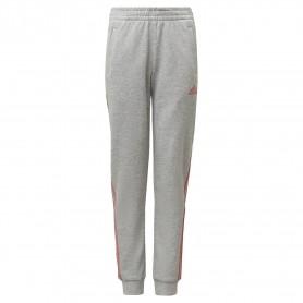 Adidas Pantalon Tapered Leg 3 Bandas Gris
