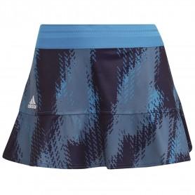 Falda Adidas Printed Match Primeblue Mujer Azul