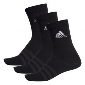 Adidas Calcetines Light Crew 3Pares Negro