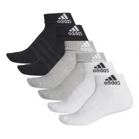Adidas Calcetin Cush Ank 6Pp Gris