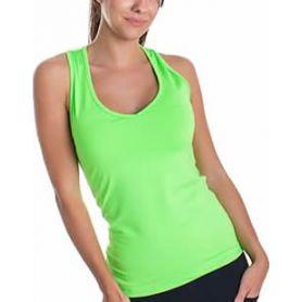 Camsieta Basica Bb Pico Mujer Verde
