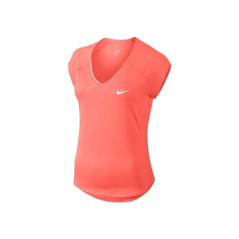 Mujer Nike Pure Top Camiseta de Manga Corta